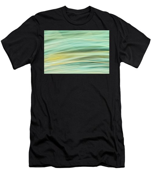 Color Swipe Men's T-Shirt (Athletic Fit)