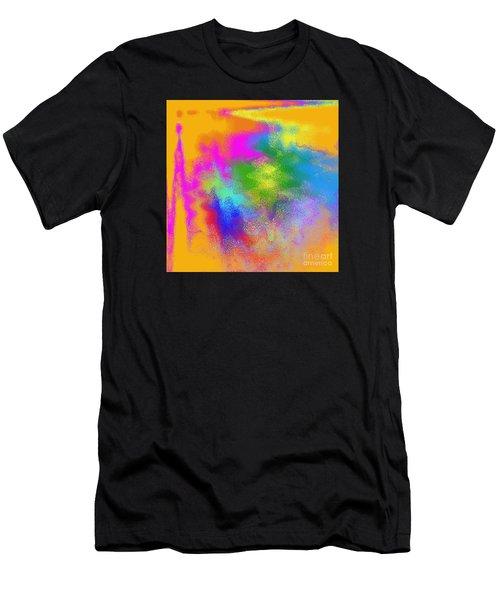 Color Towers Men's T-Shirt (Athletic Fit)
