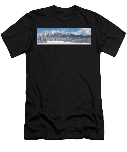 Colorad Winter Wonderland Men's T-Shirt (Athletic Fit)