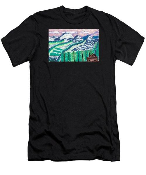 Colorado Cabin Men's T-Shirt (Athletic Fit)