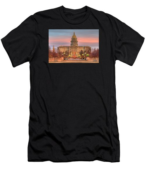 Colorado Capital Men's T-Shirt (Athletic Fit)