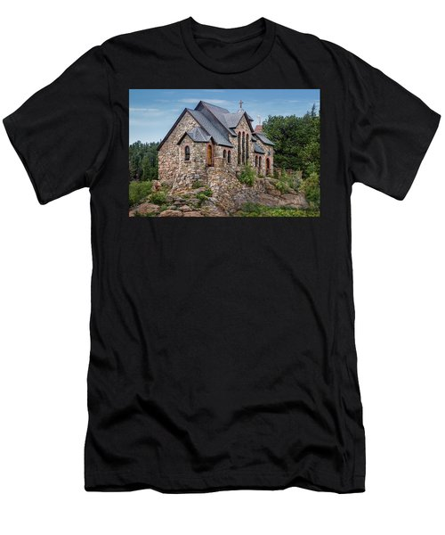 Colorado Chapel On The Rock Men's T-Shirt (Athletic Fit)