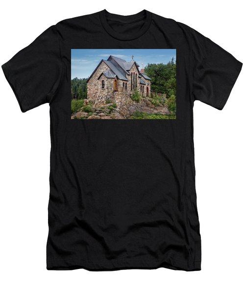 Colorado Chapel On The Rock Men's T-Shirt (Athletic Fit)