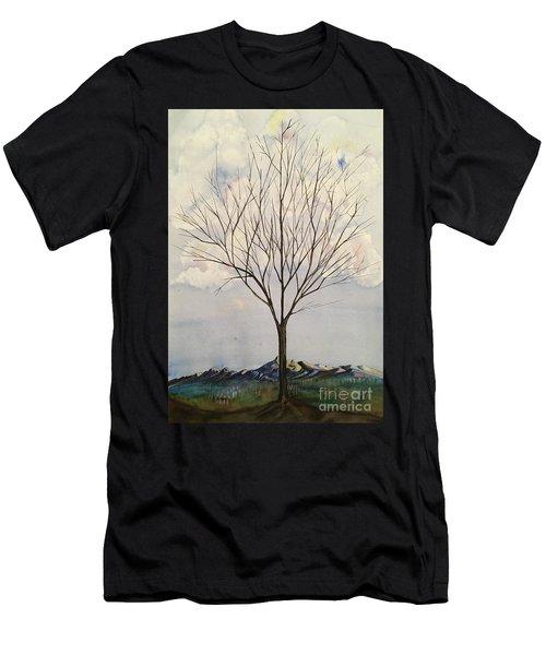 Colorado Cottonwood Men's T-Shirt (Athletic Fit)