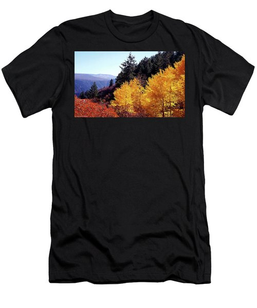 Colorado Fall Colors Men's T-Shirt (Athletic Fit)