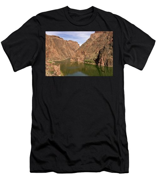 Colorado River, Grand Canyon Men's T-Shirt (Athletic Fit)