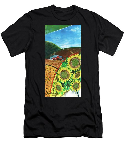 Colorado Sunflowers Men's T-Shirt (Athletic Fit)