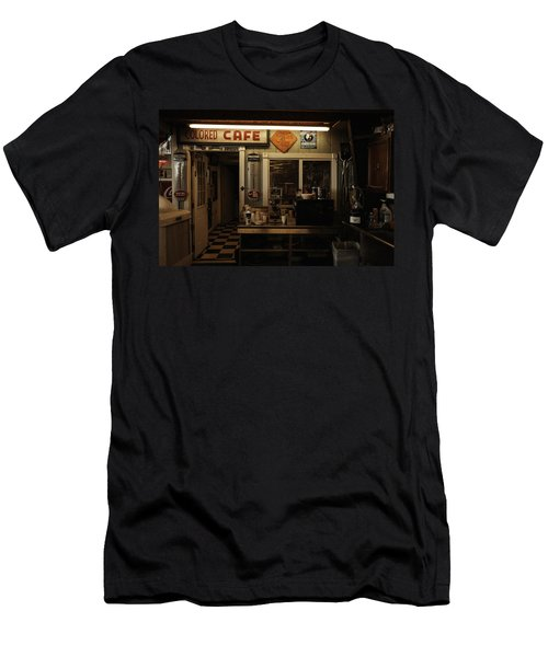 Colored Cafe Men's T-Shirt (Athletic Fit)
