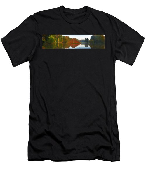 Colored Lake Pyramid Men's T-Shirt (Athletic Fit)