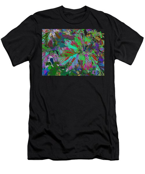 Colorfication - Leafy Colored Men's T-Shirt (Athletic Fit)