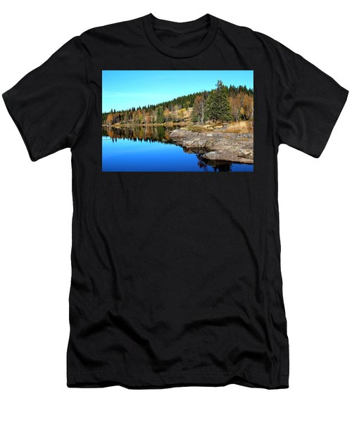 Colorful Autumn  Men's T-Shirt (Athletic Fit)