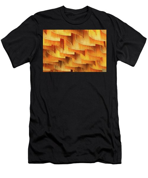 Colorful Bamboo Ceiling- China Men's T-Shirt (Athletic Fit)