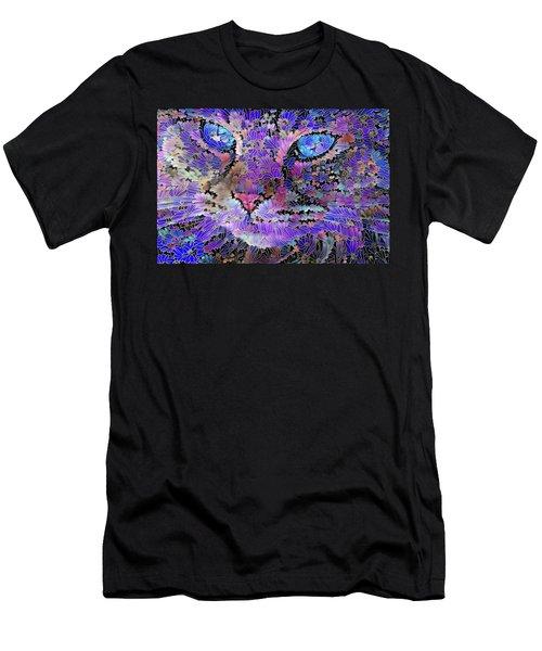 Flower Cat 2 Men's T-Shirt (Athletic Fit)