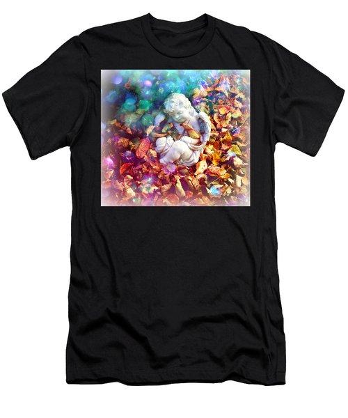 Colorful Cherub Men's T-Shirt (Athletic Fit)