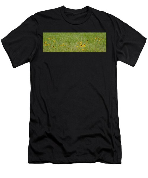 Colorful Field Men's T-Shirt (Athletic Fit)