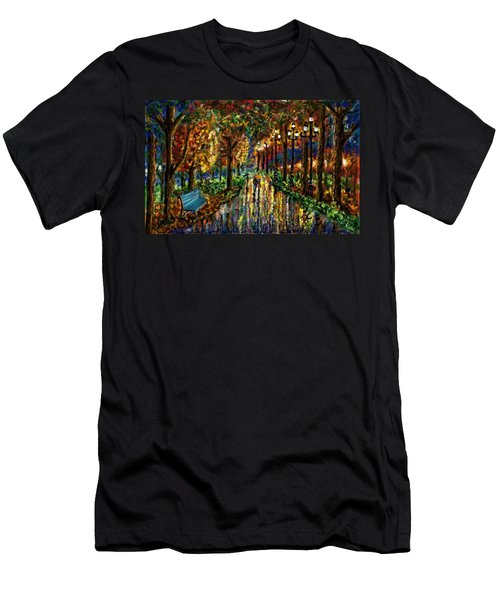 Colorful Forest Men's T-Shirt (Athletic Fit)