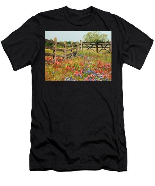 Colorful Gate Men's T-Shirt (Athletic Fit)
