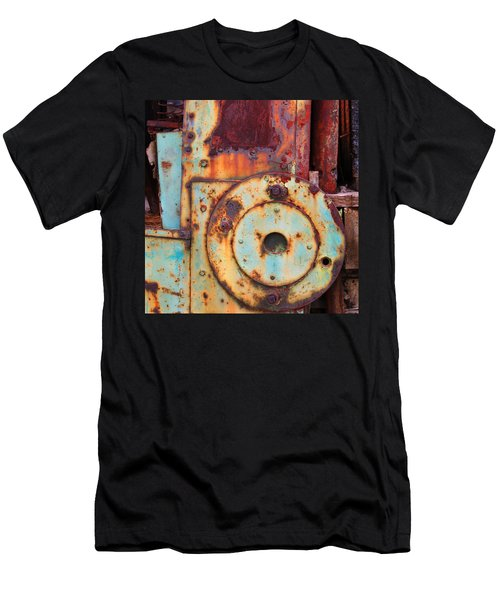 Colorful Industrial Plates Men's T-Shirt (Athletic Fit)