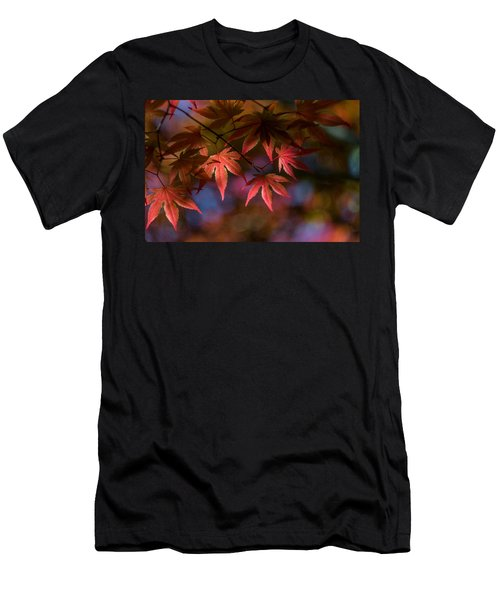 Colorful Japanese Maple Men's T-Shirt (Athletic Fit)
