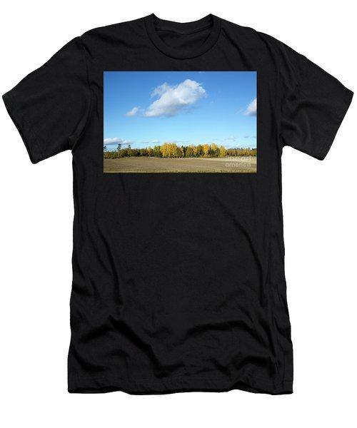 Colorful Landscape Men's T-Shirt (Athletic Fit)