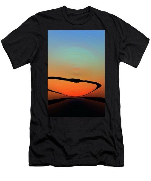 Colorful Modern Art - Eternal Light 2 - Sharon Cummings Men's T-Shirt (Athletic Fit)