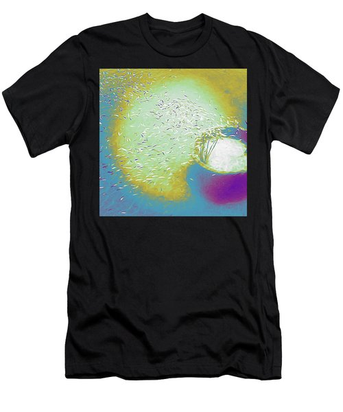 Colorful Pond Men's T-Shirt (Athletic Fit)