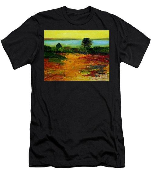 Colorful Prairie Men's T-Shirt (Athletic Fit)