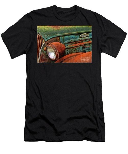 Colorful Rust Men's T-Shirt (Athletic Fit)