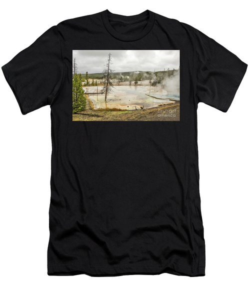 Colorful Thermal Pool Men's T-Shirt (Athletic Fit)