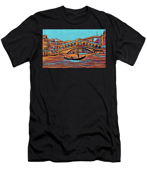 Colorful Venice Men's T-Shirt (Athletic Fit)