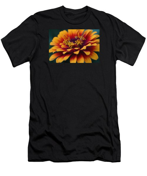 Colorful Zinnia 1 Men's T-Shirt (Athletic Fit)