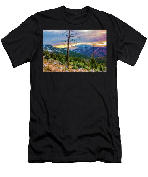 Colorfull Morning Men's T-Shirt (Athletic Fit)