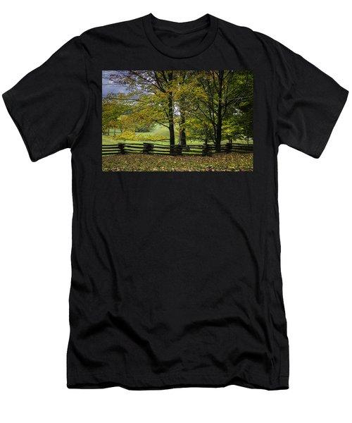 Colors At Mac Rae Field Men's T-Shirt (Athletic Fit)
