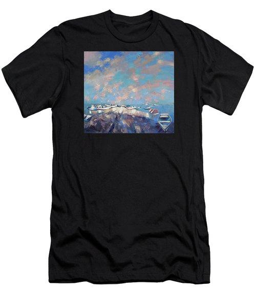 Colors Flamingo Men's T-Shirt (Athletic Fit)