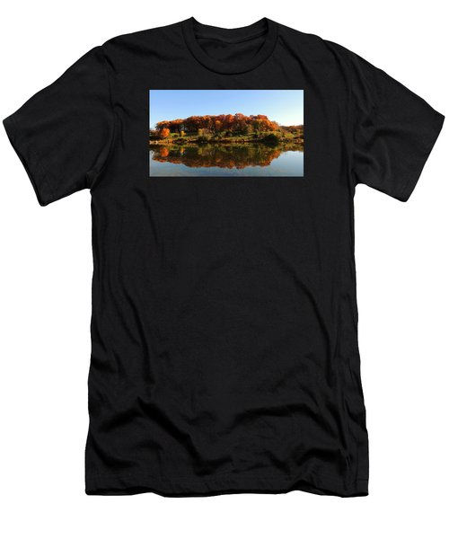 Men's T-Shirt (Slim Fit) featuring the photograph Colors Of Autumn by Teresa Schomig