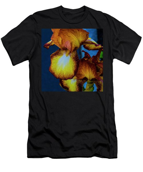 Colors Of Iris Men's T-Shirt (Athletic Fit)