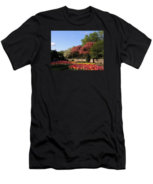 Men's T-Shirt (Slim Fit) featuring the photograph Colors Of May by Teresa Schomig