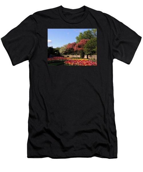 Colors Of May Men's T-Shirt (Slim Fit) by Teresa Schomig