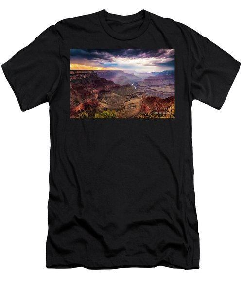 Colors Of The Canyon Men's T-Shirt (Athletic Fit)