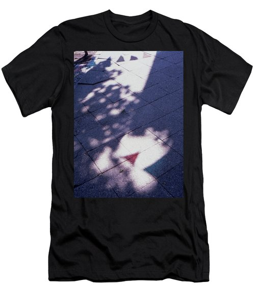 Colors On The Shadows Men's T-Shirt (Athletic Fit)