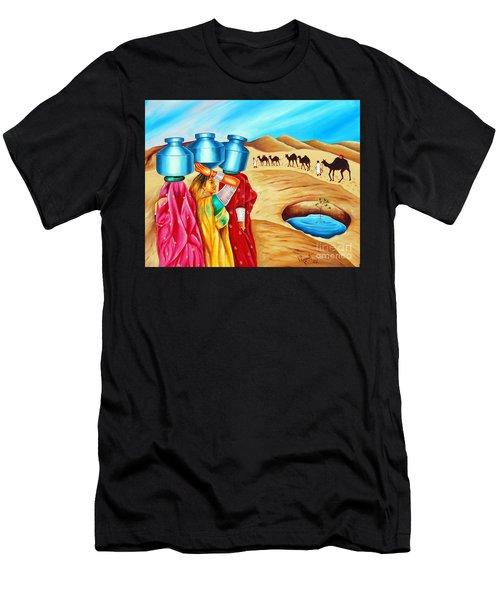 Colour Of Oasis Men's T-Shirt (Athletic Fit)
