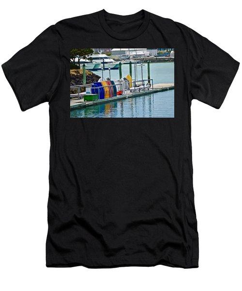 Colourful Dinghies Auckland Men's T-Shirt (Athletic Fit)