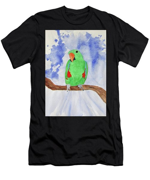 Female Parrot Men's T-Shirt (Athletic Fit)