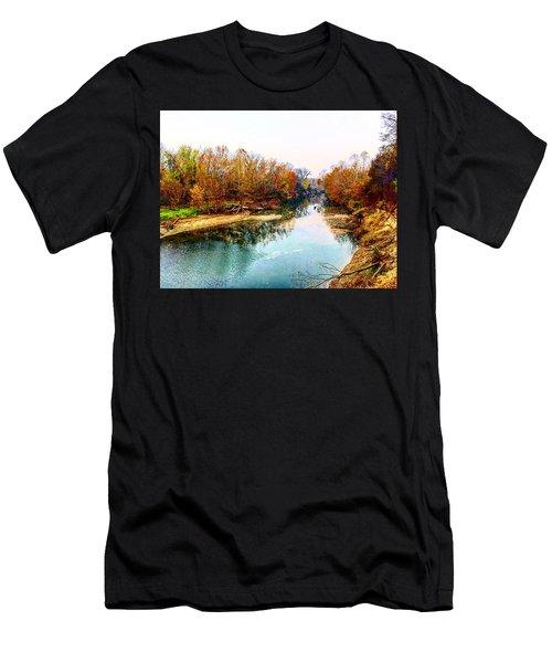 Colours Along Mill Creek Men's T-Shirt (Athletic Fit)