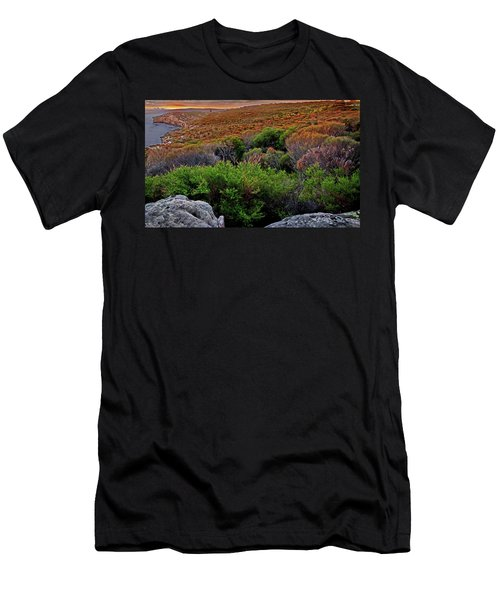 Men's T-Shirt (Athletic Fit) featuring the photograph Colours Of North Head by Miroslava Jurcik