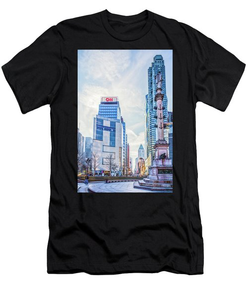 Columbus Circle Men's T-Shirt (Athletic Fit)