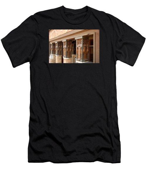 Columns At Frank Lloyd Wright Studio Men's T-Shirt (Athletic Fit)