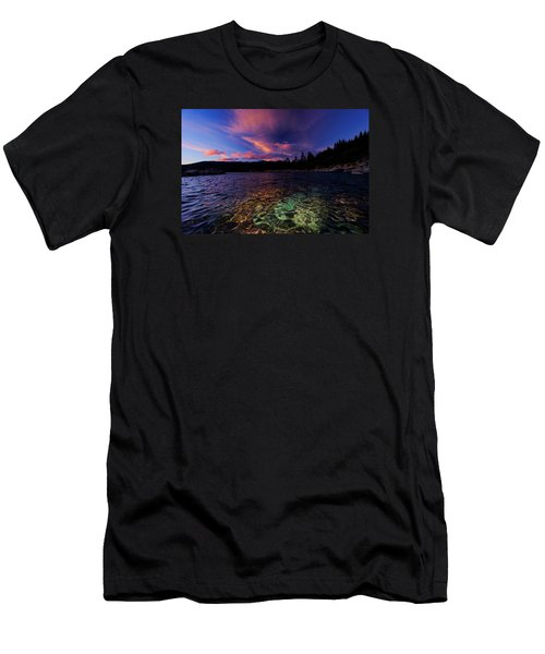 Men's T-Shirt (Slim Fit) featuring the photograph Come To My Window by Sean Sarsfield