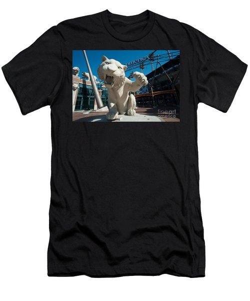 Comerica Park Entrance Men's T-Shirt (Athletic Fit)