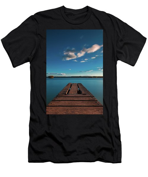 Men's T-Shirt (Athletic Fit) featuring the photograph Comfortably Numb by Davor Zerjav